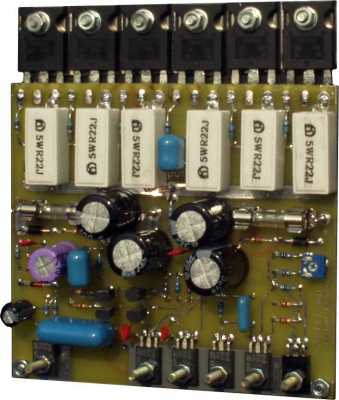 УМЗЧ MOSFET Holton Made by Newton 2003